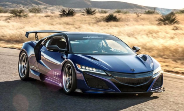 Суперкар мечты: Dream Project Acura NSX для SEMA