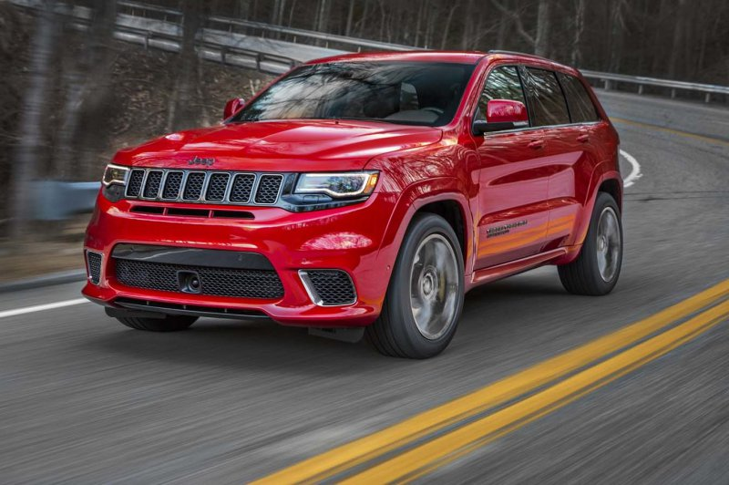 Jeep Grand Cherokee Trackhawk в исполнении Hennessey » Автомобили и тюнинг