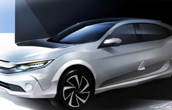 Honda Civic получит кросс-версию Versatilist